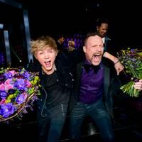 Glada finalister|Ulrik Munter och Ralf Gyllenhammar