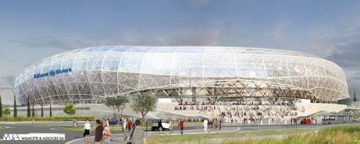 Kom förbi bygget i somras och nu är den invigd. 22 september Nice - Valenciennes.