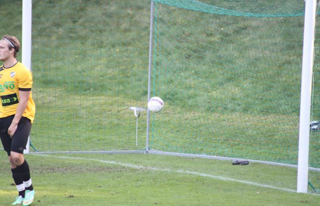 Det historiska målet och bollen. Sparade någon den?|: Gerd Persson