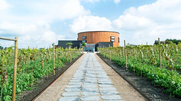 En del av Nordic Sea Winery i Simrishamn.|