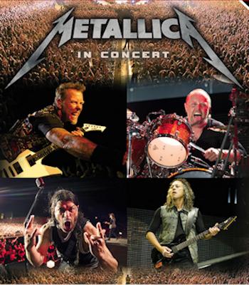 Metallica in action
