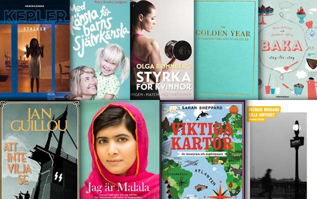 Lättsålda böcker 2014