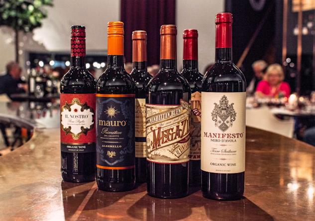Några utvalda viner.