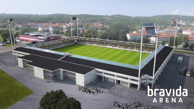 Bravida Arena på Hisingen i Göteborg|