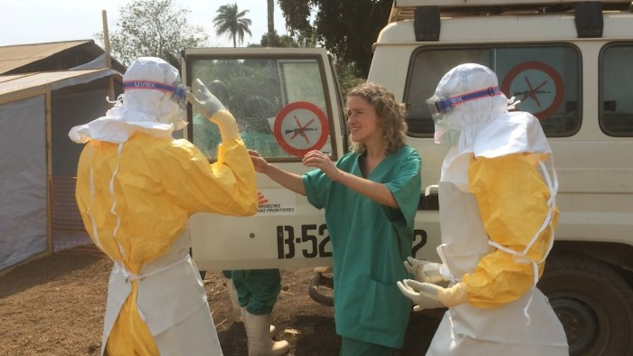 Ebolaepidemi utan motstycke i Guinea.|©  : Kjell Gunnar Beraas/Läkare Utan Gränser.